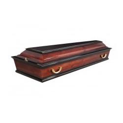 """Гроб """"Печаль"""" резной с иконой"""
