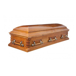 """Гроб двухкрышечный """"Хьюстон"""""""